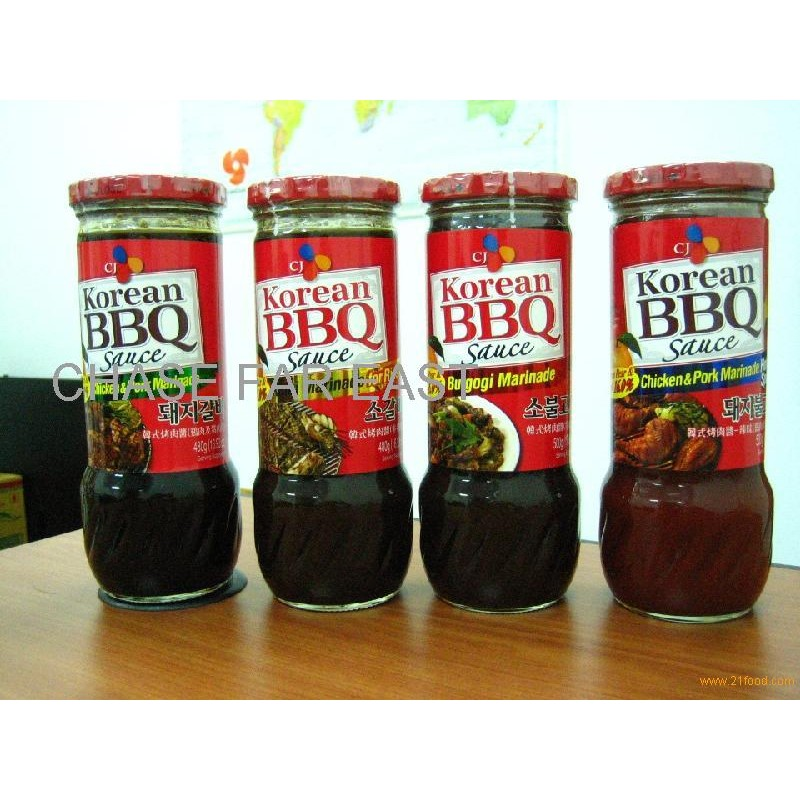 Korean BBQ Marinade / Sauce 840g | Shopee Philippines