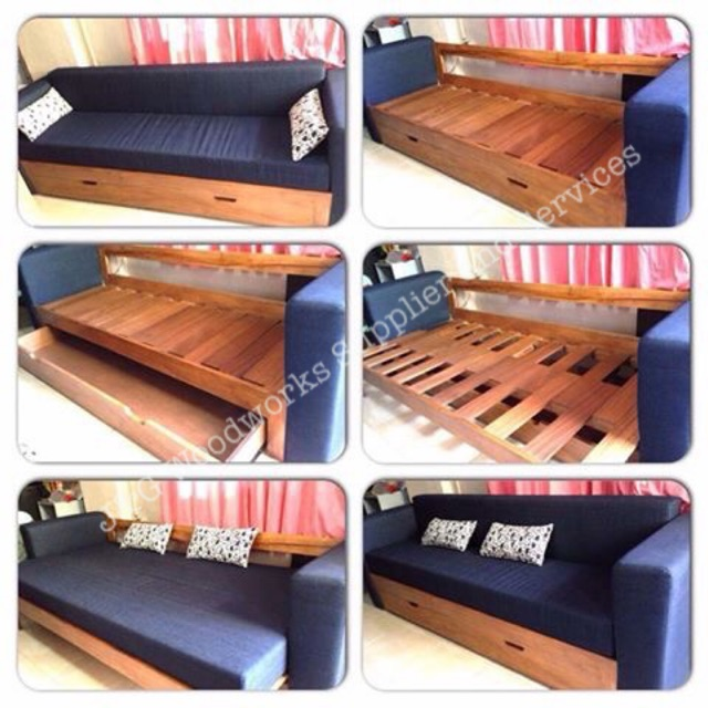 Wooden Sofa Bed Sho Philippines