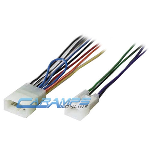 Stereo Radio Player Wiring Harness Plug For Toyota on