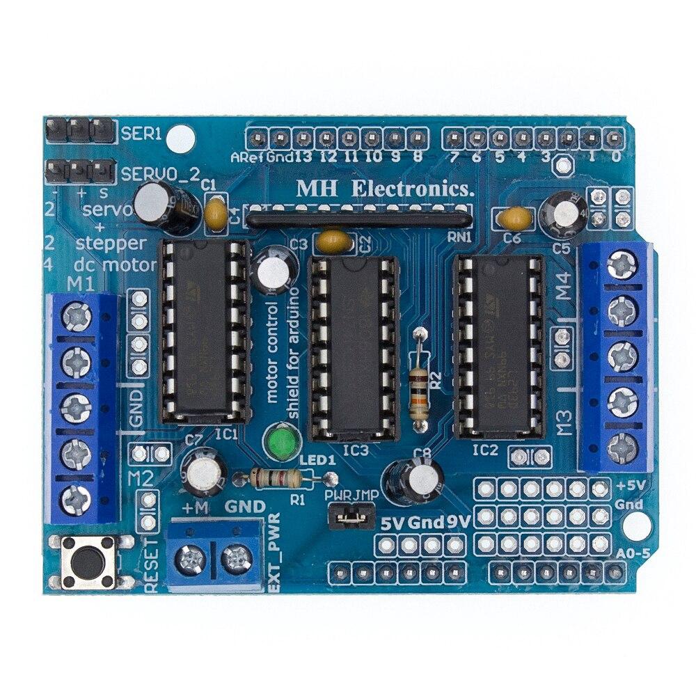 Motor Drive Shield Expansion Board L293D For Duemilanove Mega2560 ..