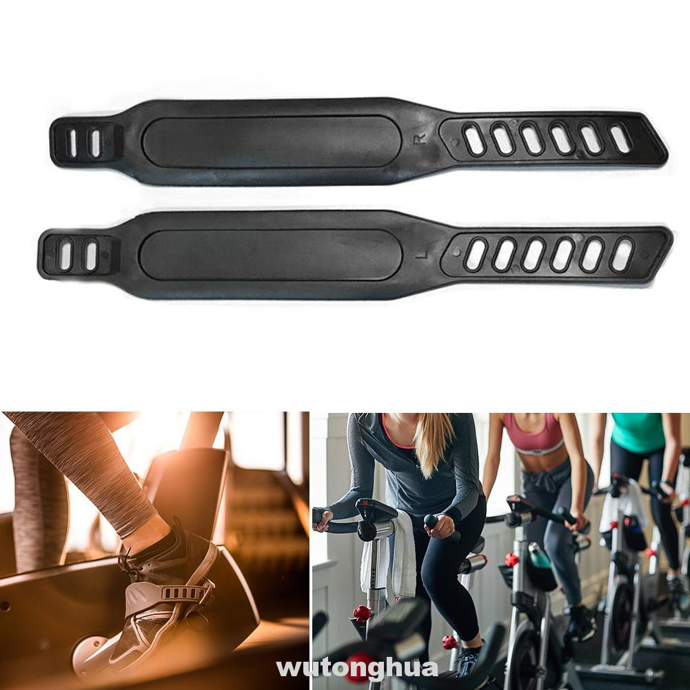 1 Pair Exercise Bike Pedal Straps for Exercise Bike Stationary Cycle Home Gym.