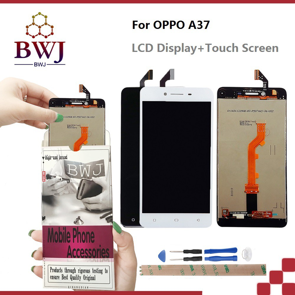 For OPPO A37 LCD display +Touch Screen Digitizer