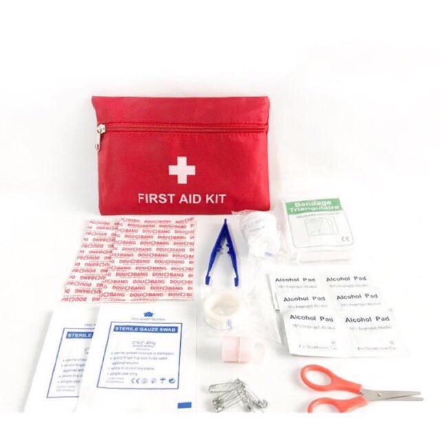 Emergency Kit 35pcs First Aid Kit Set Component Medical Supplies Outdoor Car Family Medical Kit Shopee Philippines