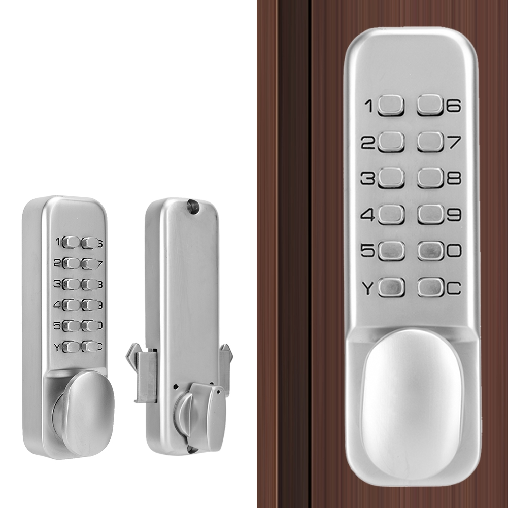 MAGT Sliding Door Latch Sliding Door Password Lock 1-11 Digirt Combination Door Latch for Kitchen Balcony