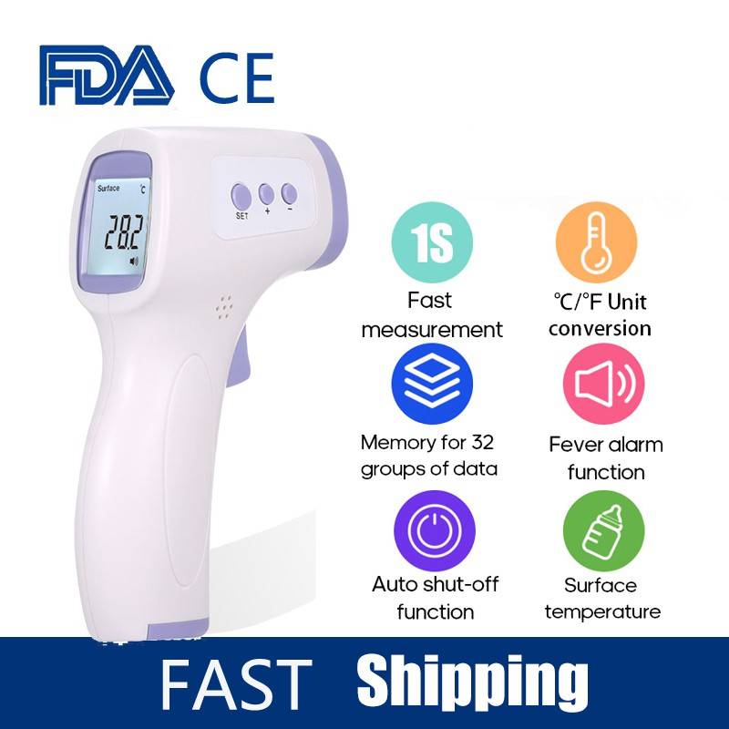 puseky Digital Medical Thermometer Accurate and Fast Readings Waterproof Oral Armpit Thermometer for Kids Baby and Adults