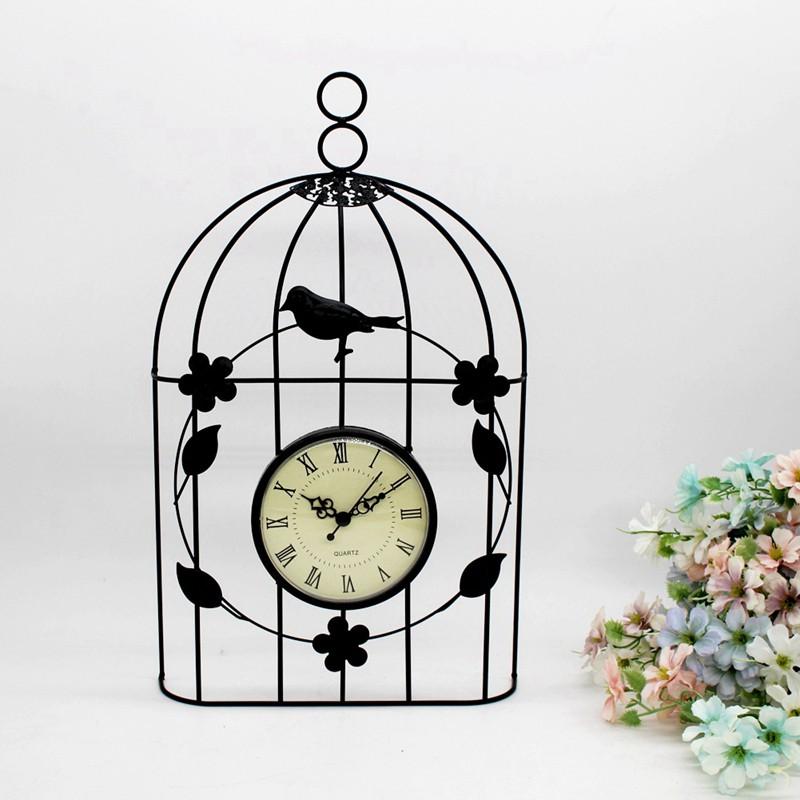 Wall Clock Vintage Antique Style Decor