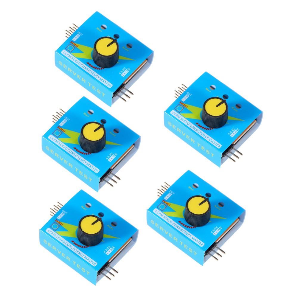 Multi Servo Tester NEU 3CH ECS Consistency Speed Controler Power Channels CCPM w