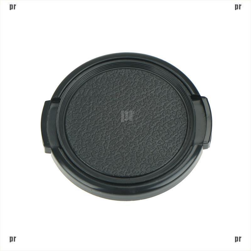 58mm Plastic Snap On Front Lens Cap Cover For SLR DSLR Camera DV ...