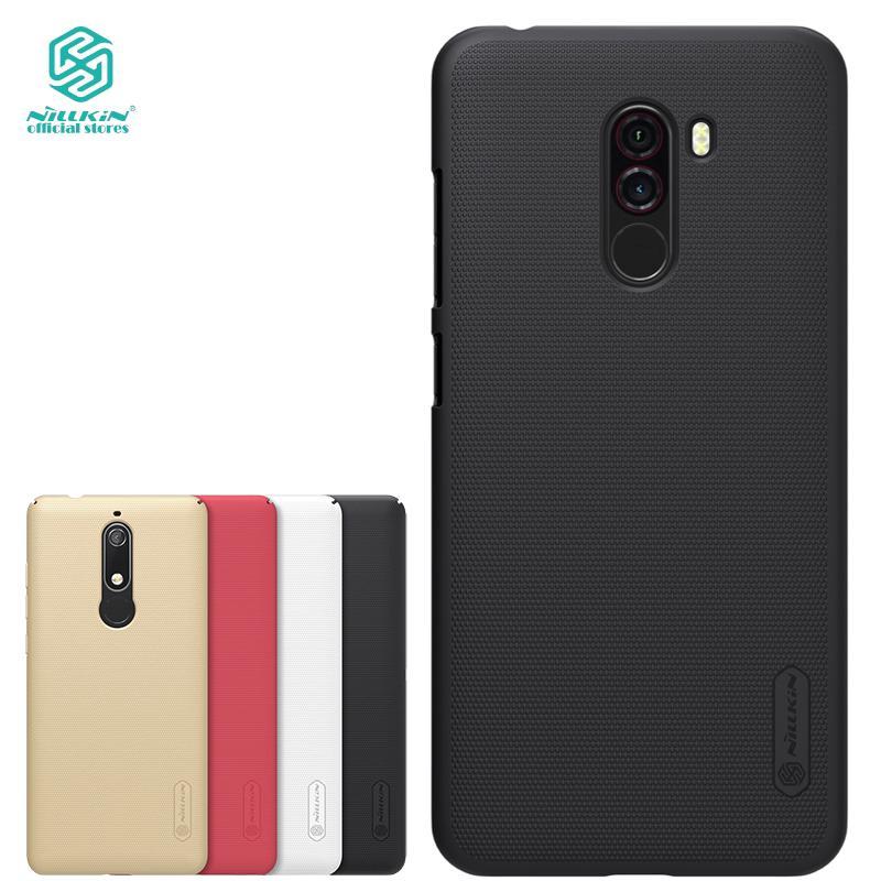 best service cf2bc cfffc Nillkin Xiaomi Pocophone F1 case PC hard phone back cover | Shopee ...