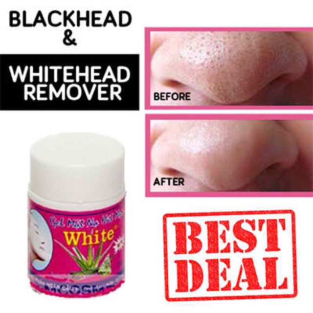 GEL HUT MUN CLEAR NOSE WHITE HEADS REMOVER