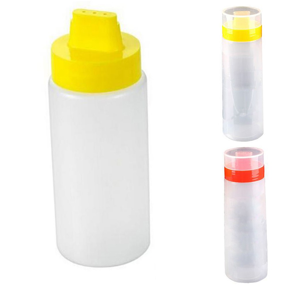 4 Hole Squeeze Bottle Condiment Dispenser Ketchup Mustard Salad Sauce Durable X1 Shopee Philippines