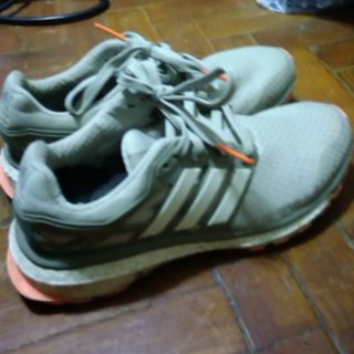 GrAy Adidas Energy Boost Rubber Shoes