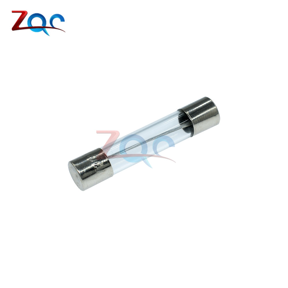 10 Pcs Fast Blow Type Glass Tube Fuses 6x30mm 250V 30A