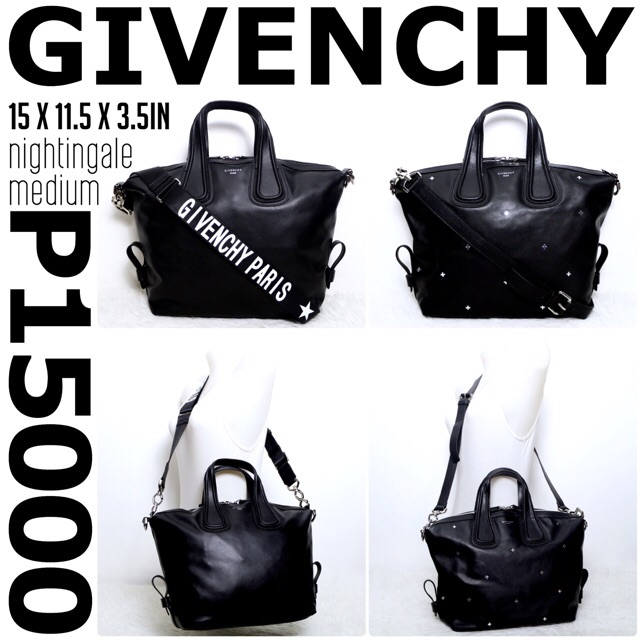 0a5b4aaf77 new   authentic GIVENCHY nightingale medium hand bag sling