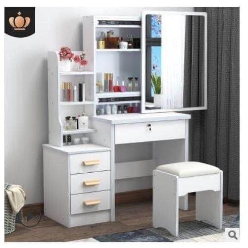 Cod Vanity Dresser W Sliding Mirror