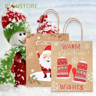 Christmas Gift Bags Images.Craft Kraft Paper Gifts Party Supplies Christmas Gift Bag