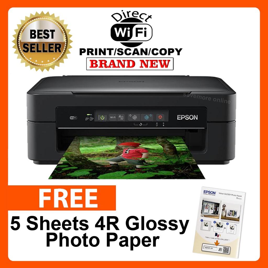 Epson XP-255 Wi-Fi & Wi-fi Direct Printer ,Scan,Copy