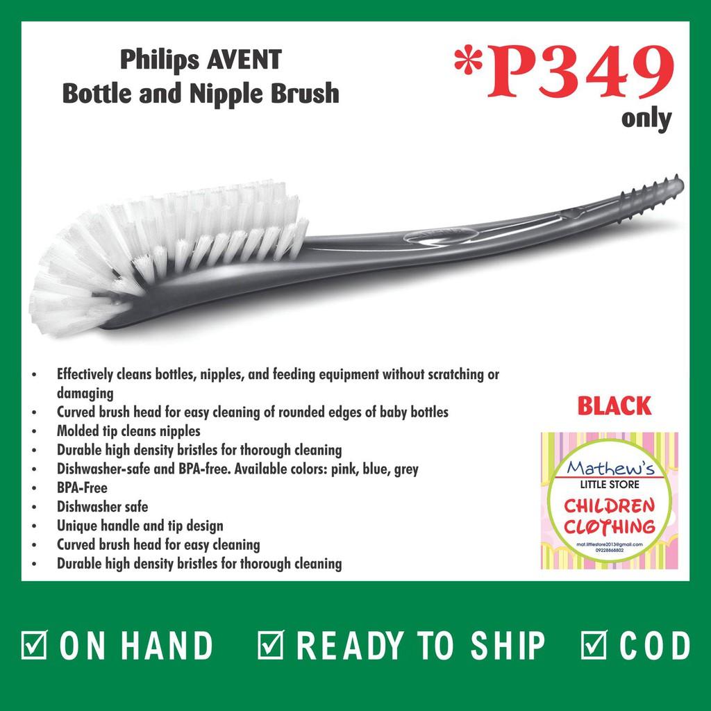 Grey 1 Free Shipping Philips AVENT Bottle and Nipple Brush