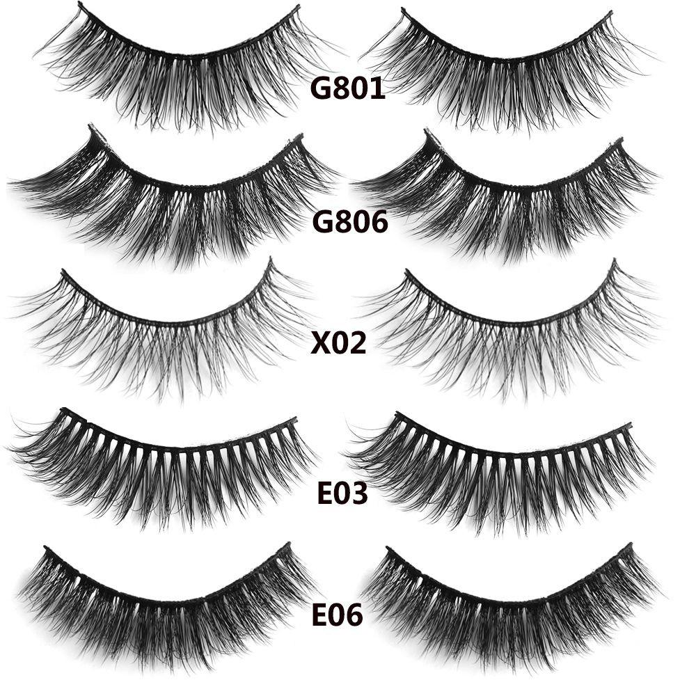 34ca9c6ce39 3D Mink Hair Lashes False Eyelashes Extension Tools Wispy   Shopee ...