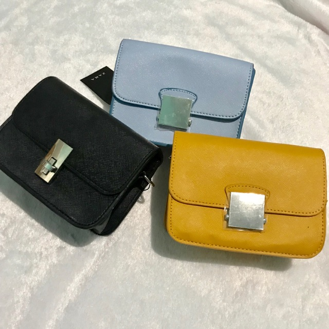 1927f2c1ae3 Authentic Zara Multicolored Sling Bag | Shopee Philippines
