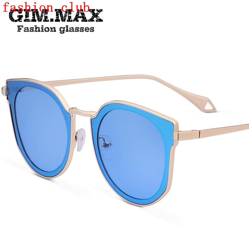 5072862462 2017 new Korean sunglasses female blue ocean legend red star with round  bright personality sunglass