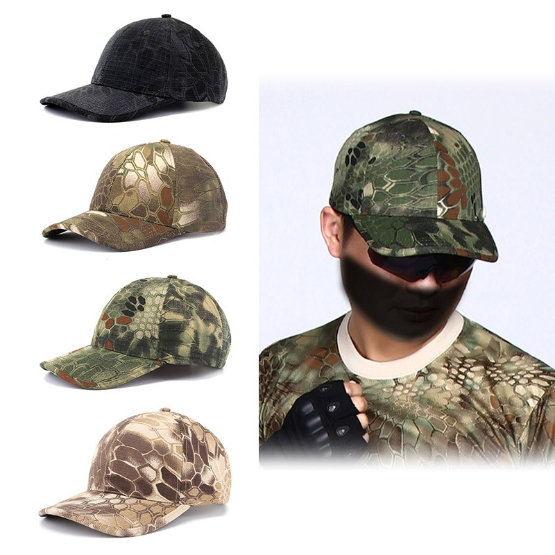 CRAZY GO  Soldiers Tactical Hat Camouflage Printed Outdoor Caps Visor New  Military  8432cf3f3c41