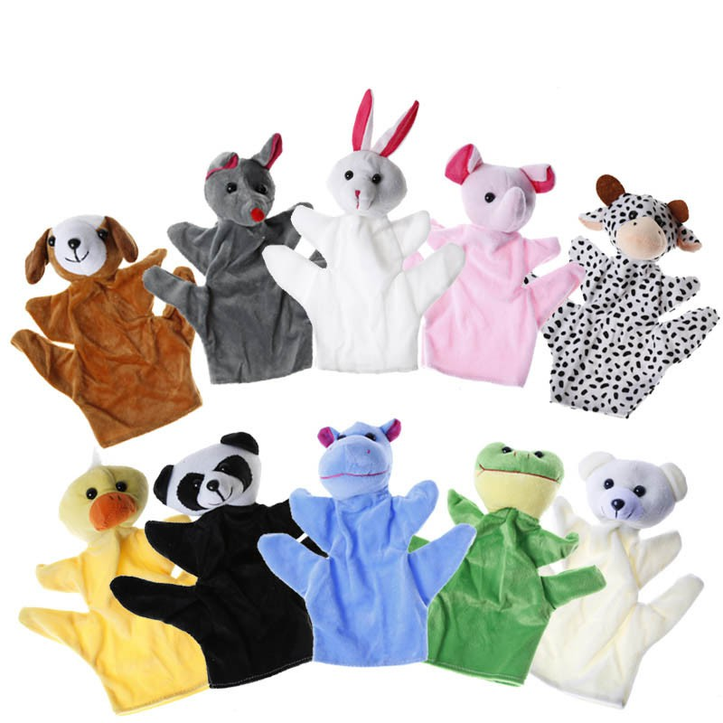 Dolls & Stuffed Toys 2019 Baby Plush Toy Animal Hand Puppet Cute Yellow Duck Baby Placate Toy Telling Story Birthday Gift 1pc Easy To Repair Toys & Hobbies