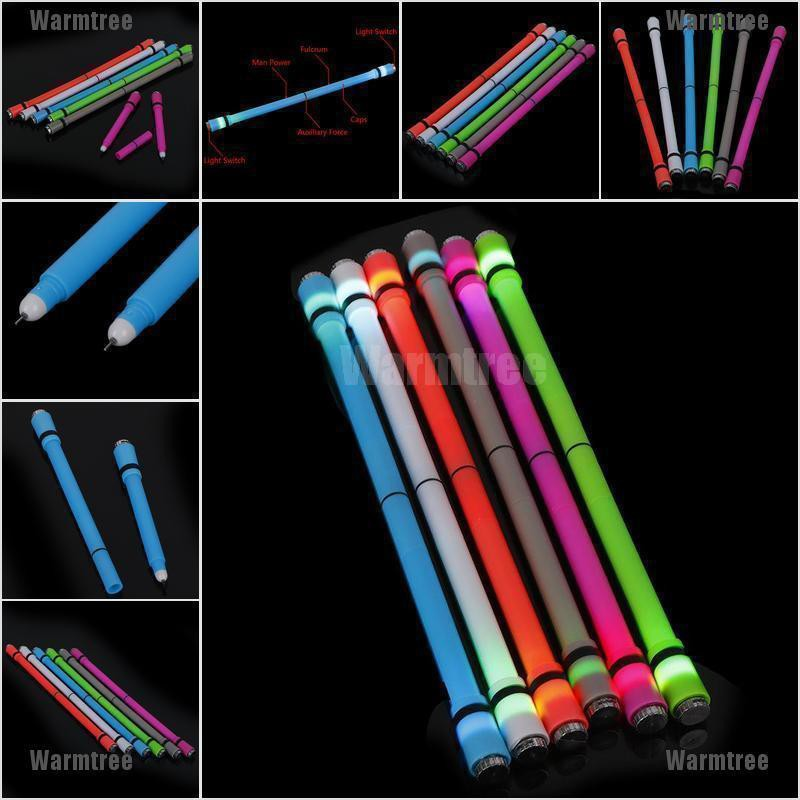 Flash Spinning Pen Rotating Gaming Gel Pens   Ink Student Gift Toy School Suppy