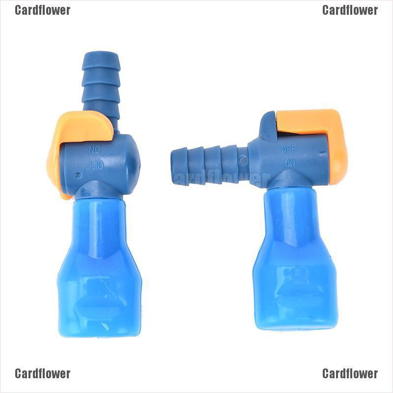 Outdoor General 90° Straight Silicone Bite Valve Hydration Pack Nozzle Bladde ES