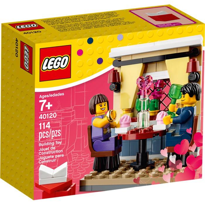 Valentine's Seasonal 40120 Dinner Lego Day Set LpqSMGUzV