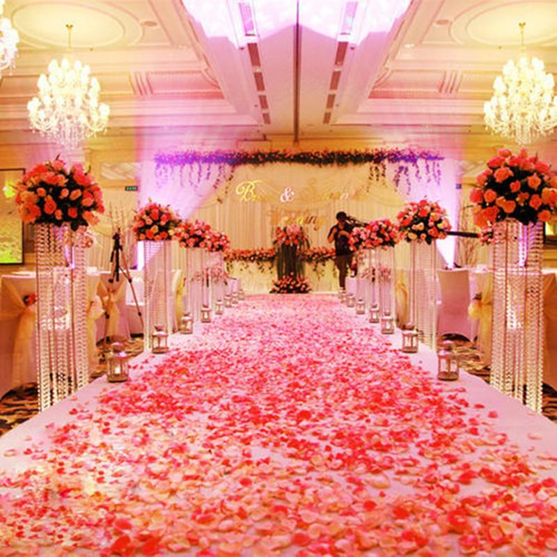 100pcs Silk Rose Petals for BOBO Balloon Decoration Romantic Artificial  Rose Flower Wedding Accessories | Shopee Philippines