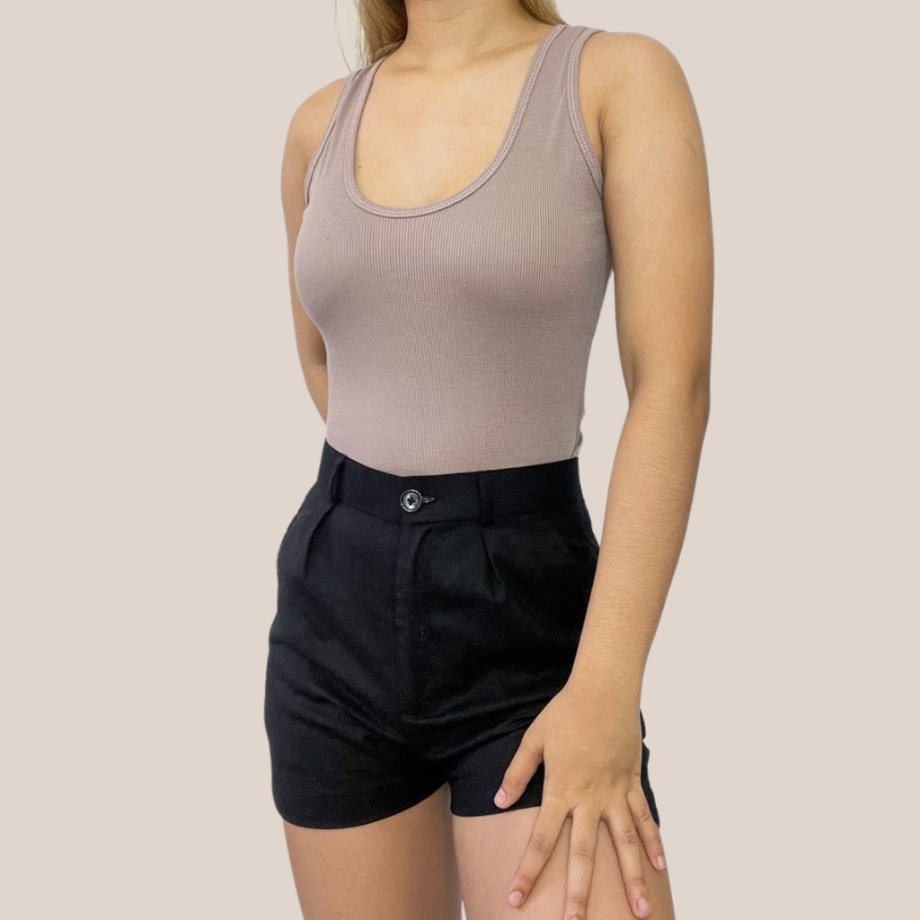 Busty Babe Tight T Shirt