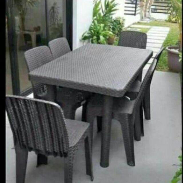 timeless design 4fb62 66e58 Plastic Dining Table Set