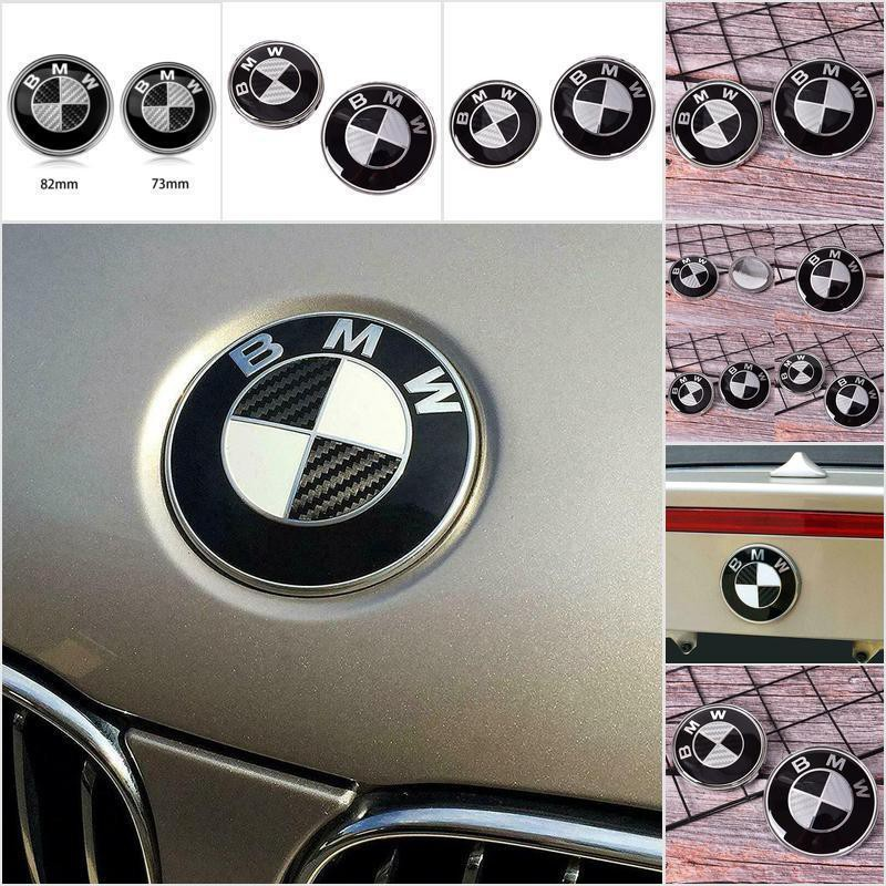 BMW 320i CARBON FIBER TRUNK LETTERS BADGE EMBLEM