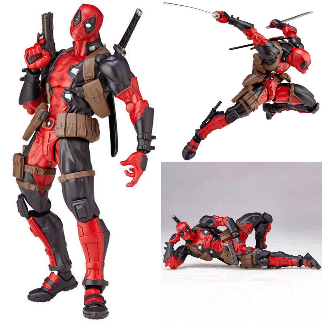 DEADPOOL// WADE WILSON REVOLTECH 15 CM ACTION FIGURE SERIES 001