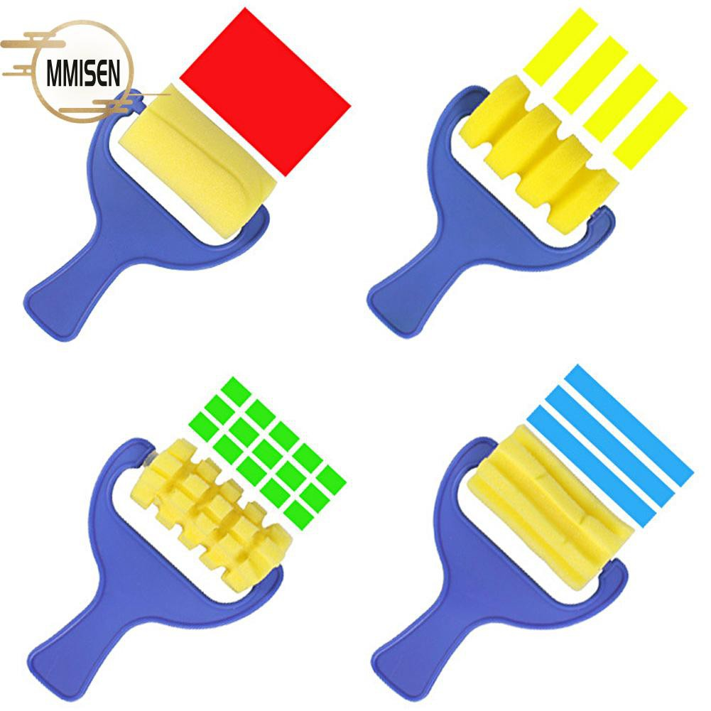 Sponge Paint Rollers Kids Painting Tools Learning Graffiti Toys