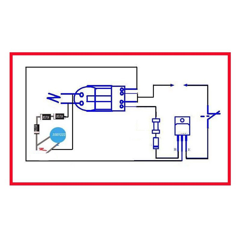 15KV High Voltage Inverter Generator Spark Arc Ignition Coil ... B Onan Rectifier Wiring Diagram on