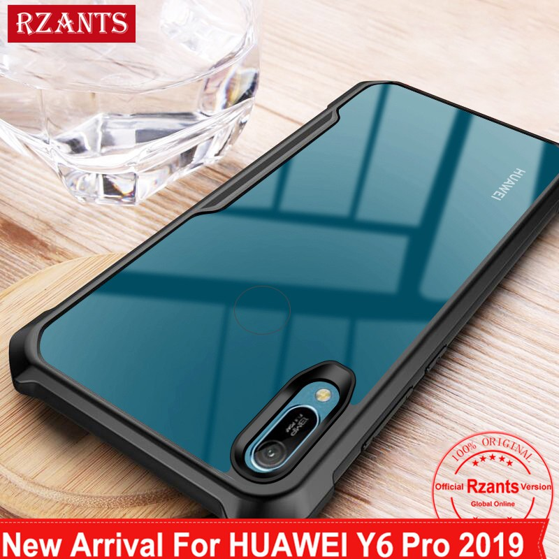 Huawei Y6 Pro 2019 / Y7 Pro 2019 Case Transparent Back Cover