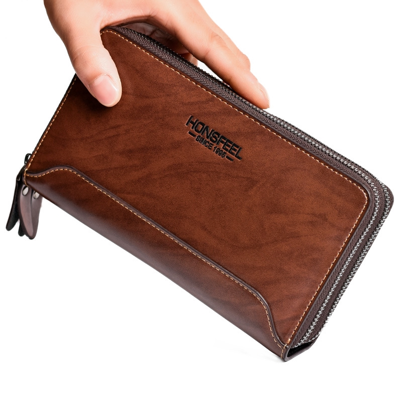 0b7313fa31b3 Men Genuine Leather Card Holder High-end Wallet Purse