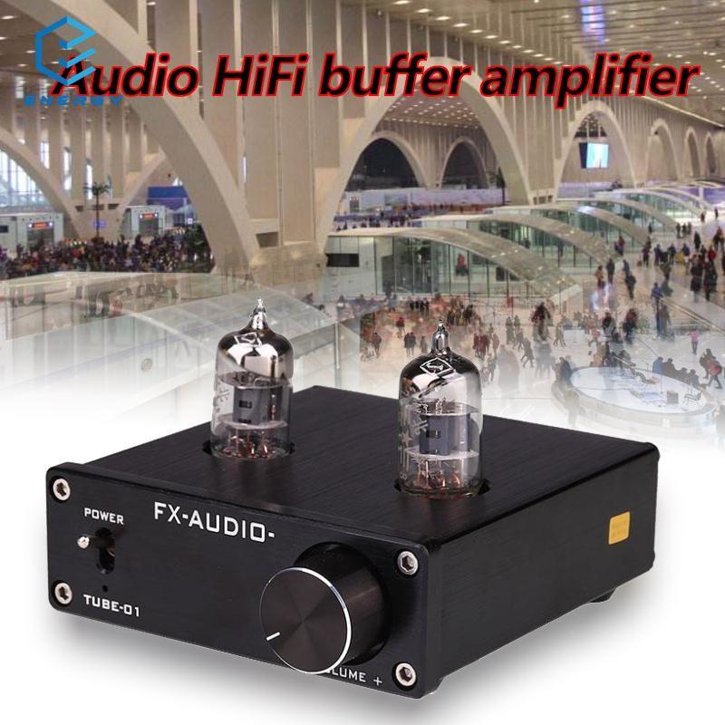 EGY i 6J1 Valve Vacuum Tube Stereo Audio Buffer Amplifier