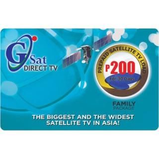 ✅⭐️ Gsat 200 Prepaid Card