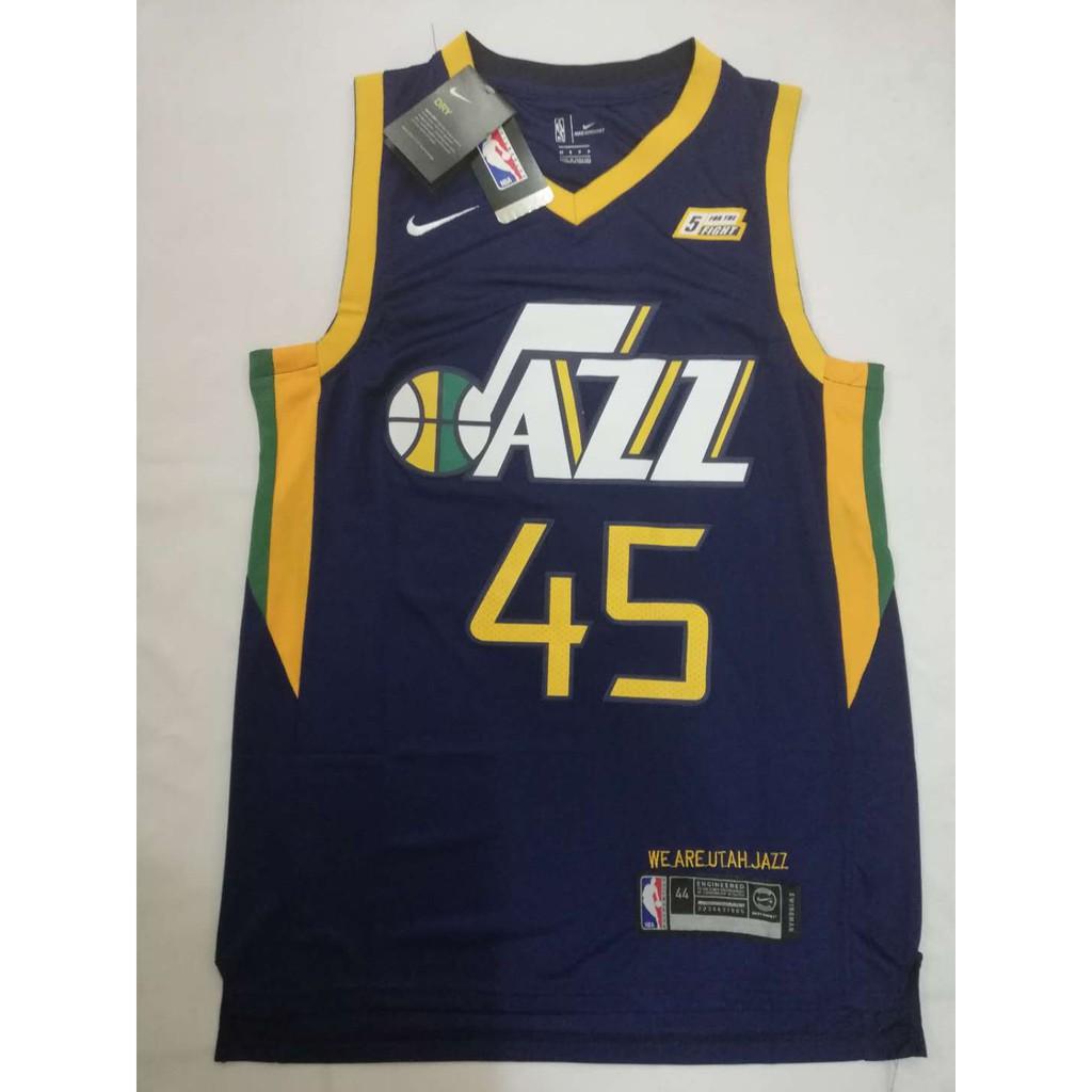 size 40 977ac ff4fe NBA Utah Jazz 45 Donovan Mitchell Swingman jersey