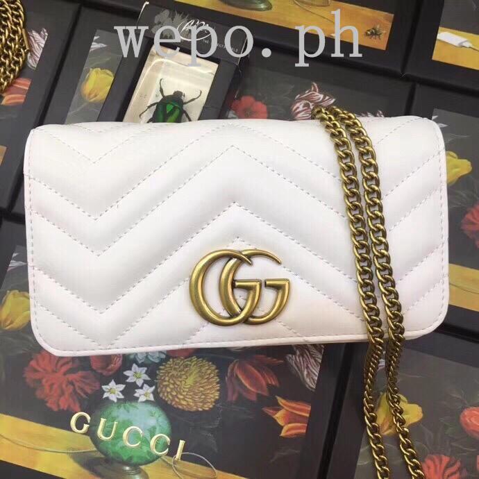 dd01a6e4a079 Gucci Marmont Matelasse Shoulder Bag 27cm COMPLETE | Shopee Philippines