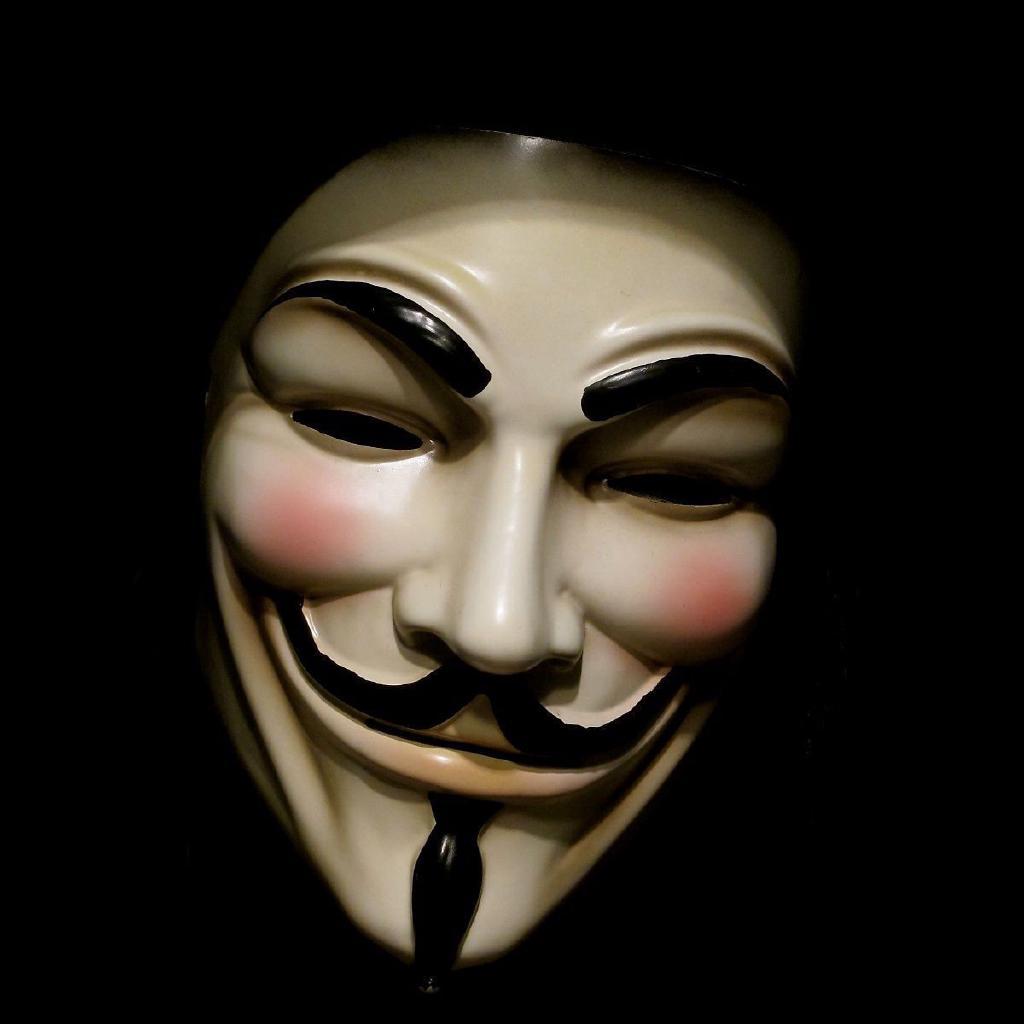 moitié prix Vente chaude 2019 ramasser Vendetta Mask Adult Mens Fawkes Anonymous Occupy Halloween ...