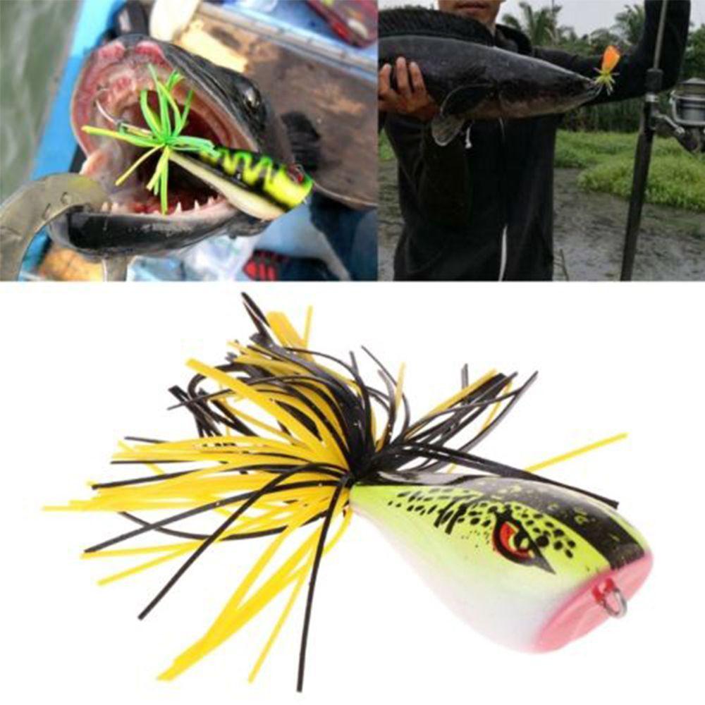 9cm 9 2g Nakehead Cicada Frog Bass Bait Hard Fishing Lures