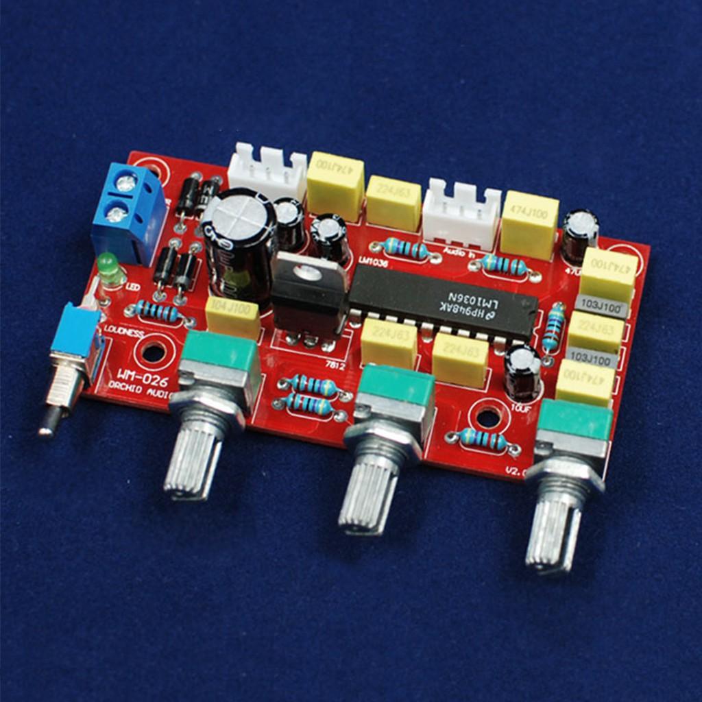 Amplifier Passive Tone Board Bass Treble Volume Control Pre-amplifier DIY Kits