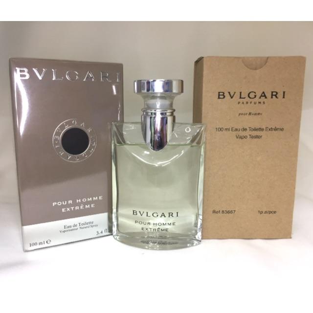 Cod Bvlgari Pour Homme Extreme Perfume 100ml Shopee Philippines