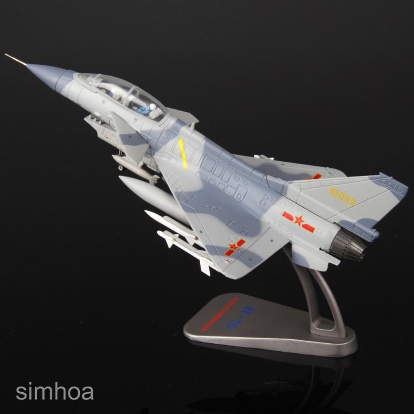 1//72 Maßstab J 10 Alloy Metal Diecast Modell Aircraft Geburtstagsgeschenk