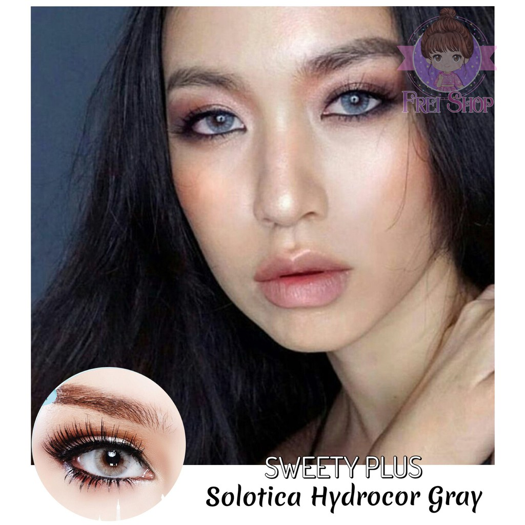Solotica Hydrocor Gray Sweety Plus Lens Shopee Philippines