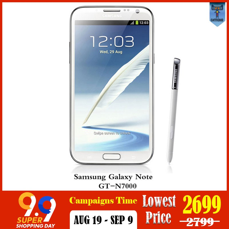 Original Samsung Galaxy Note mobile android phone cellphone